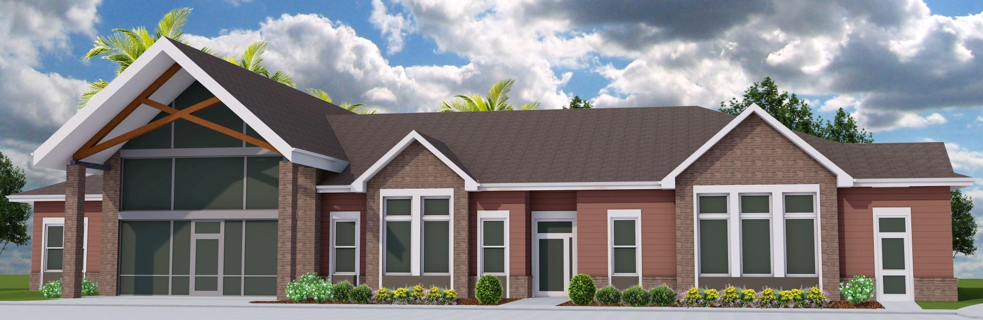 Dominium acquires lakecrest village apartments for Brammer kitchen cabinets